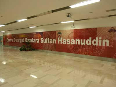 Welcome to all new Bandara Sultan Hasanuddin