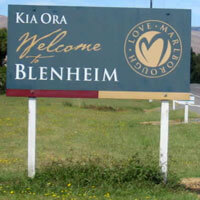 Flights to Blenheim