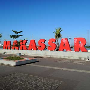 Flights to Makassar
