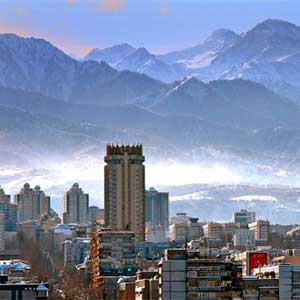 Flights to Almaty
