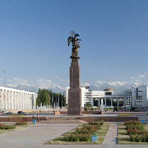 Flights to Bishkek