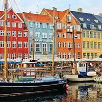 ticket SAS Scandinavian Airlines - Kopenhagen