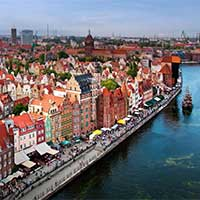 Flights to Gdansk