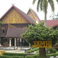 Flights to Jambi