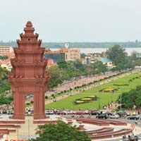 Flights to Phnom Penh