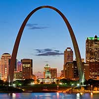 ticket United Airlines - St Louis