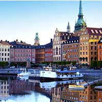ticket SAS Scandinavian Airlines - Stockholm