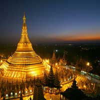 Flights to Yangon