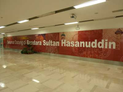 Welcome to all new Bandara Sultan Hasanuddin 1